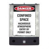 Safety Sign Alerter - Confined Space Sign