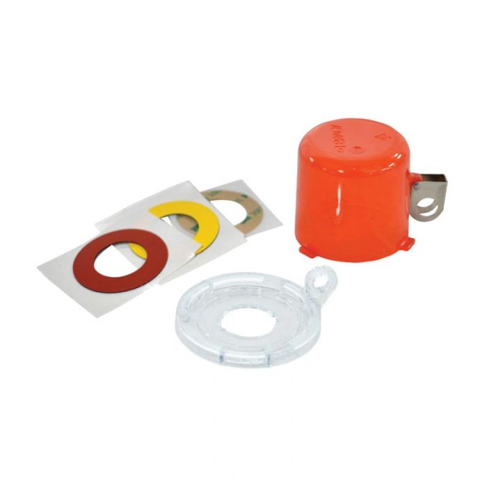 130820 Twist And Secure Push Button And E-Stop Safety Covers