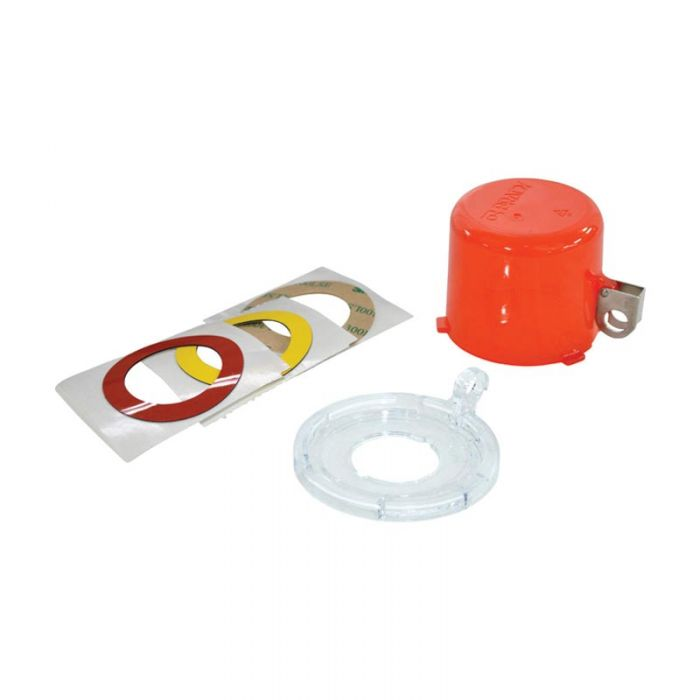130821 Twist And Secure Push Button And E-Stop Safety Covers