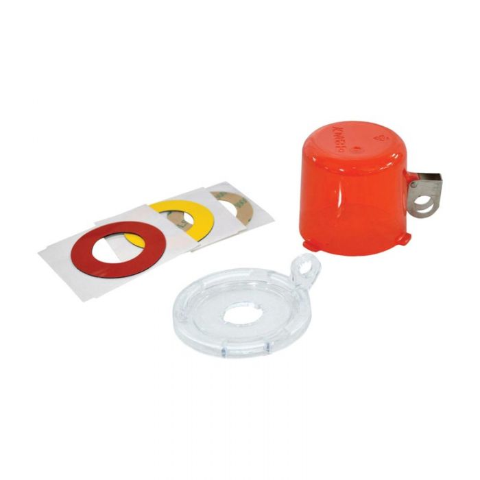 134018 Twist And Secure Push Button And E-Stop Safety Covers
