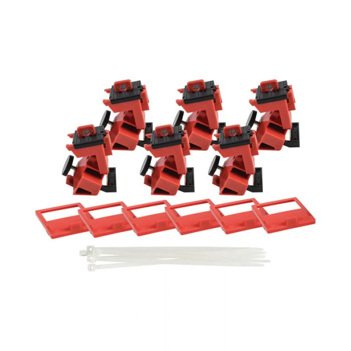148687 Taglock 480-600v Clamp-on Breaker Lockout Pk6