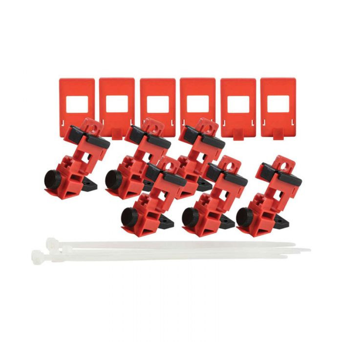 148698 Taglock 120-277v Clamp-on Breaker Lockout Pk6