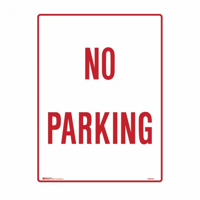 832050 Building & Construction Sign - No Parking