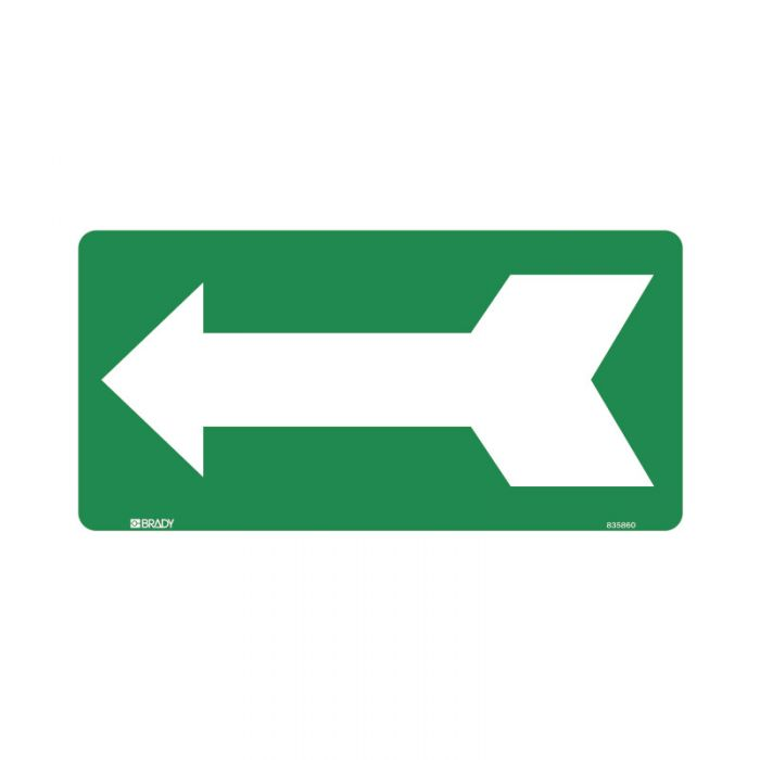 832753 Directional Sign - Arrow Left Green