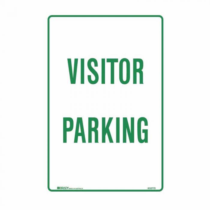 832771 Parking & No Parking Sign - Visitor Parking