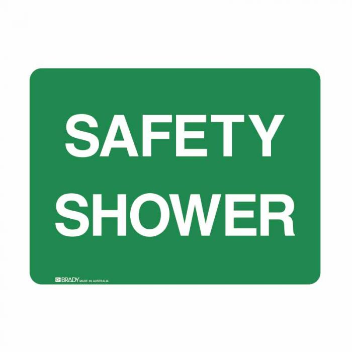 832971 Emergency Information Sign - Safety Shower