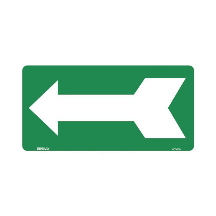 833423 Directional Sign - Arrow Left Green