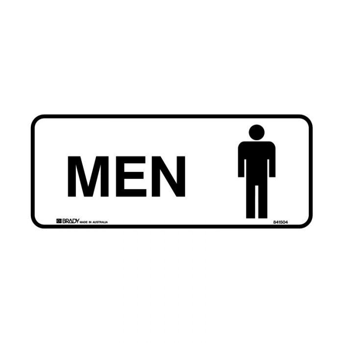 836640 Door Sign - Men