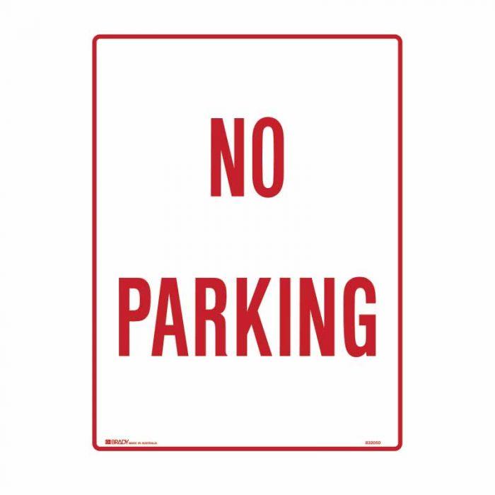 840307 Building & Construction Sign - No Parking
