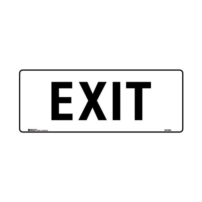 841194 Door Sign - Exit