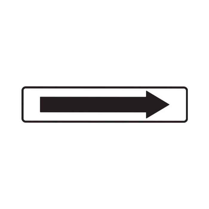 841200 Directional Sign - Arrow Right White
