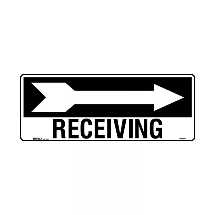 841271 Directional Sign - Receiving Arrow Right