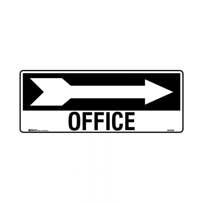 841277 Directional Sign - Office Arrow Right