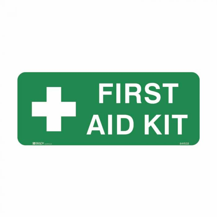 841532 Emergency Information Sign - First Aid Kit