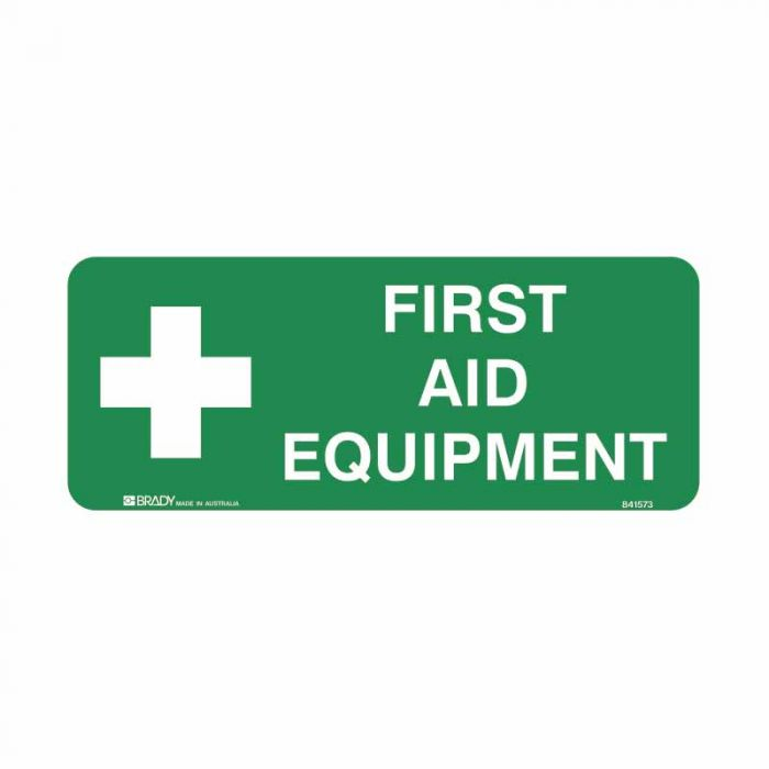 841573 Emergency Information Sign - First Aid Equipment