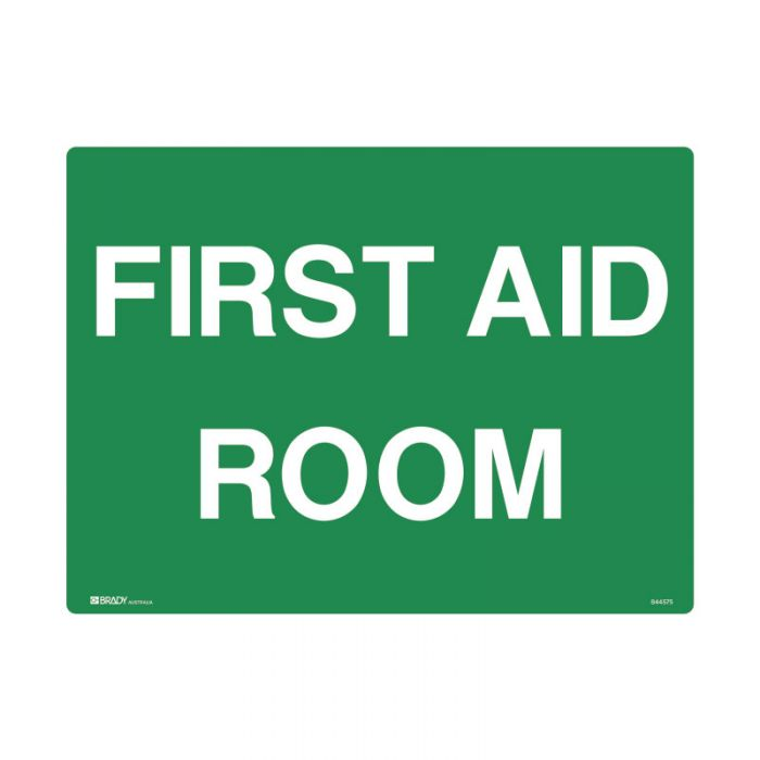 841590 Emergency Information Sign - First Aid Room