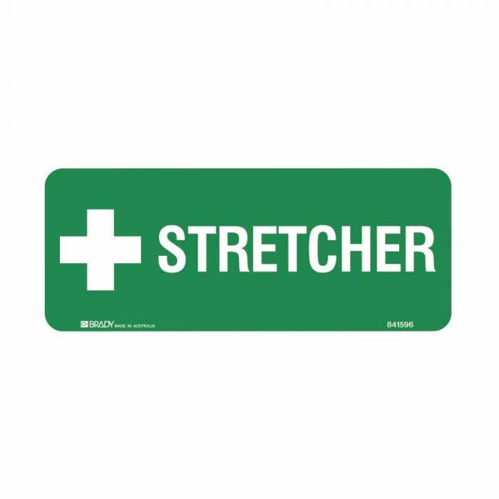 841597 Emergency Information Sign - Stretcher