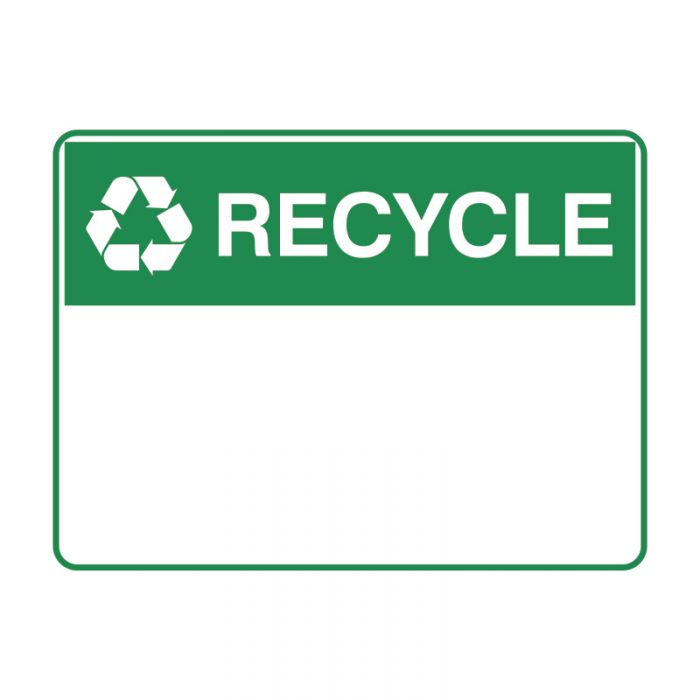 841911-Blank-Safety-Sign---Recycle