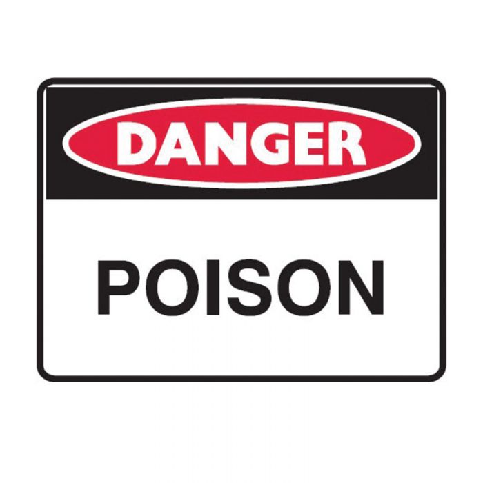 842505 Small Stick On Labels - Danger Propane Gas