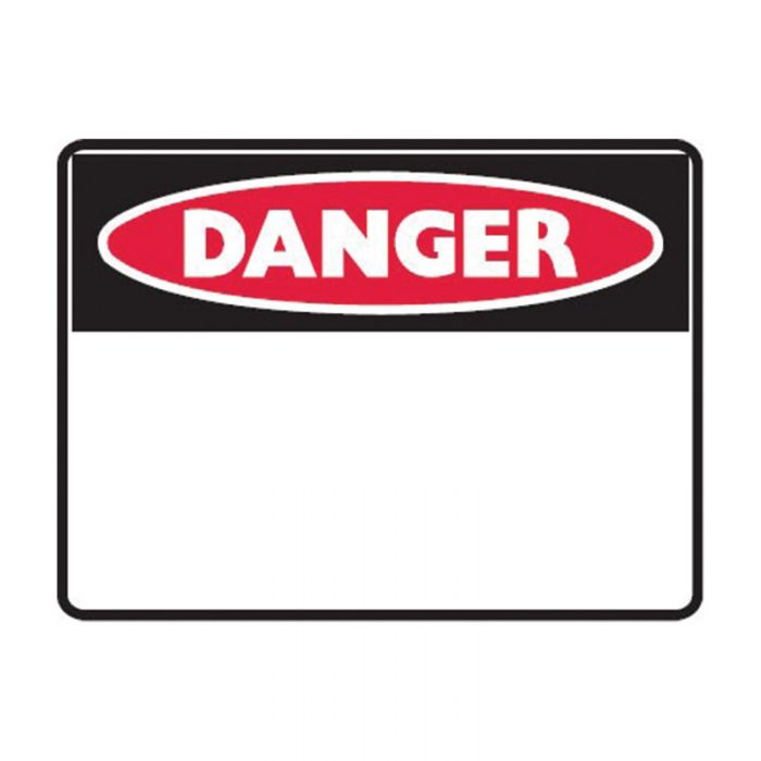 842539 Small Stick On Labels - Danger