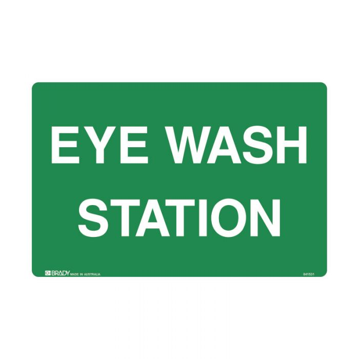 844833 Emergency Information Sign - Eye Wash Station