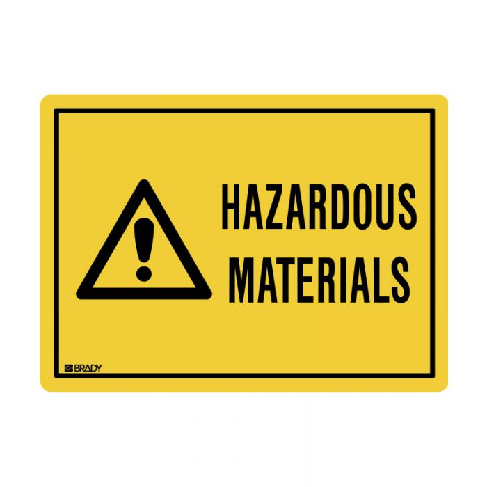 845548 Small Stick On Labels - Hazardous Materials