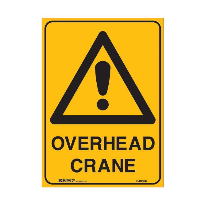 847874 Mining Site Sign - Overhead Crane