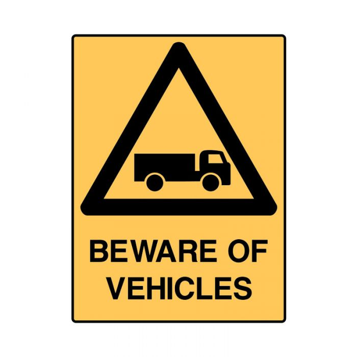 847893 Mining Site Sign - Beware Of Vehicles