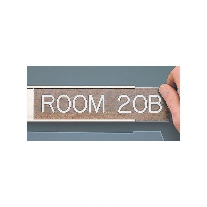848487 Engraved Sign Holder
