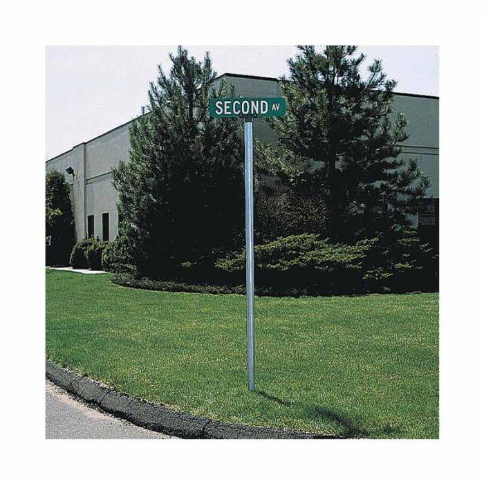 852563 Parking & No Parking Sign - Round Sign Post