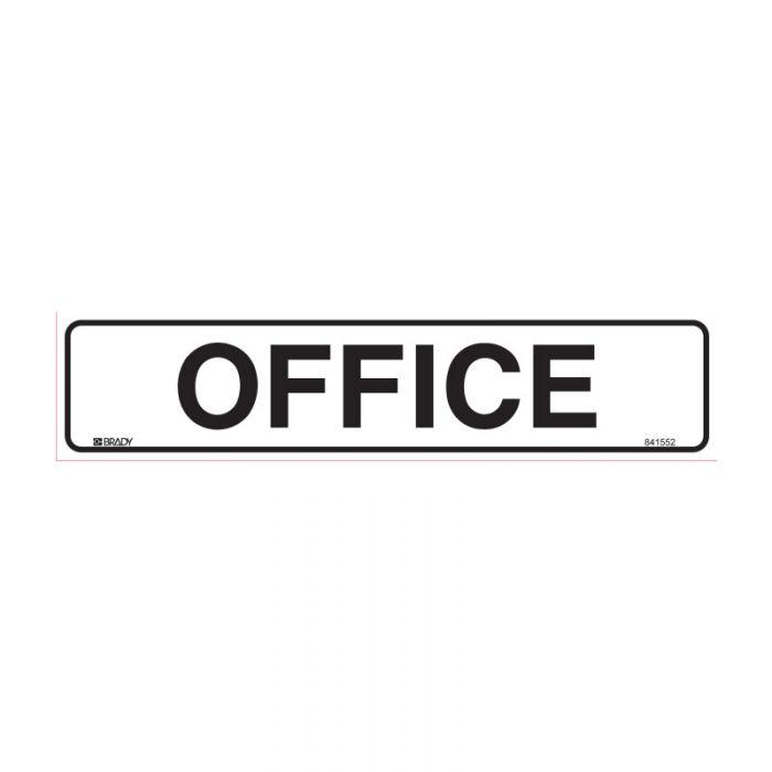852676 Door Sign - Office