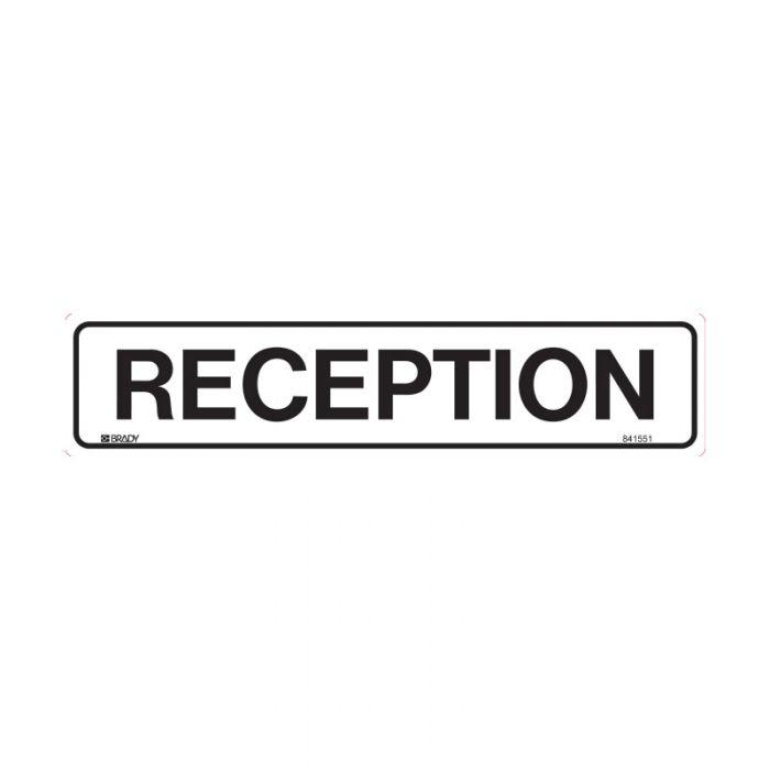852679 Door Sign - Reception