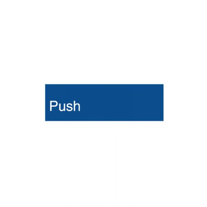 852714 Engraved Office Sign - Push