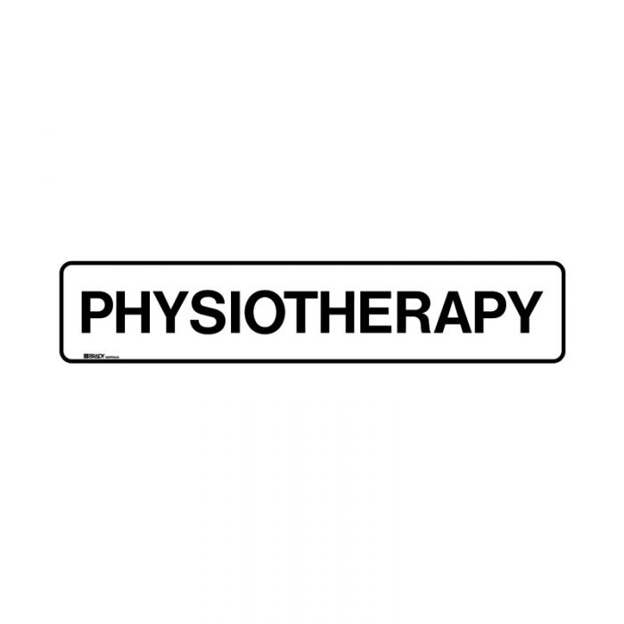 852901 Hospital-Nursing Home Sign - Physiotherapy