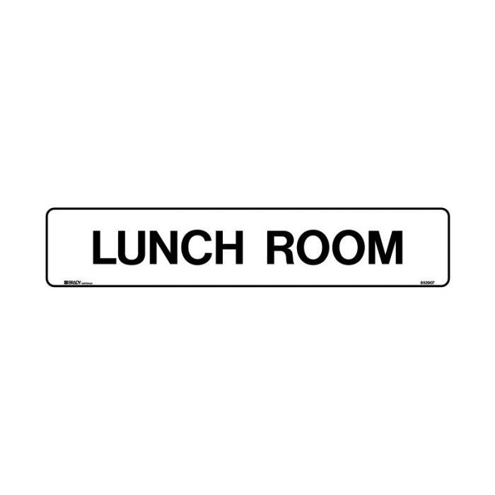 852908 Hospital-Nursing Home Sign - Lunch Room