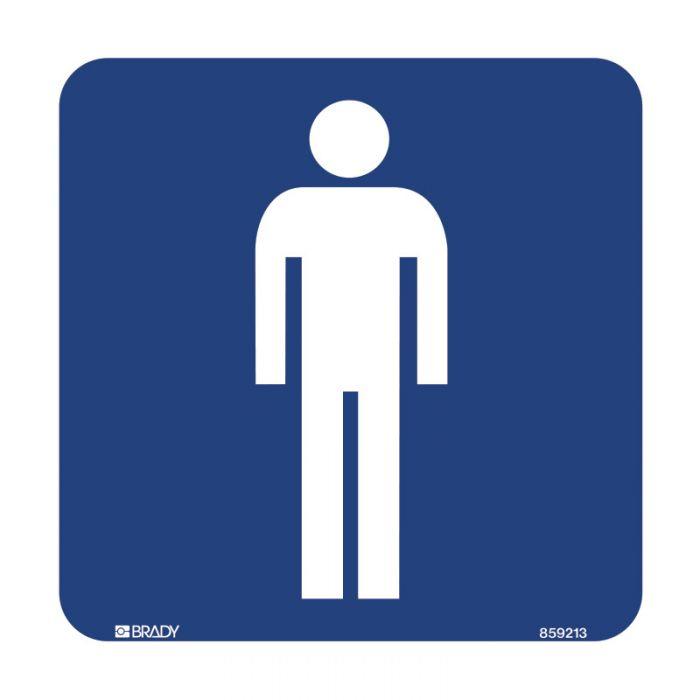 852936 Hospital-Nursing Home Sign - Mens Symbol