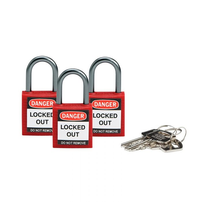 853205 Brady Keyed Alike Padlocks