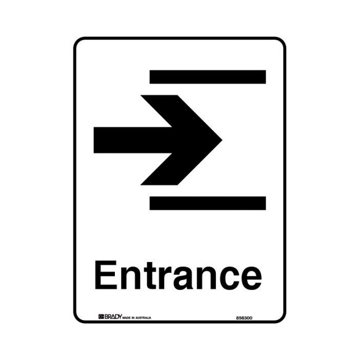 855430 Public Area Sign - Entrance Right