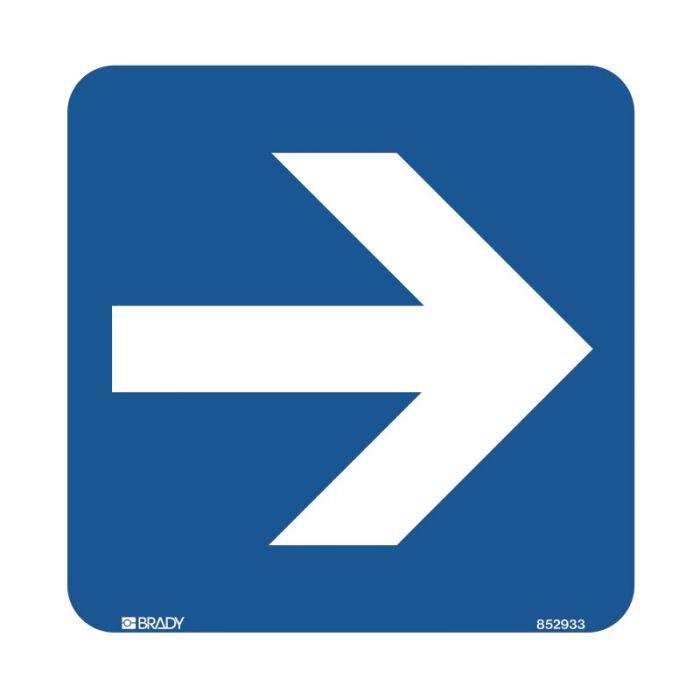 855619 Hospital-Nursing Home Sign - Arrow Symbol Right