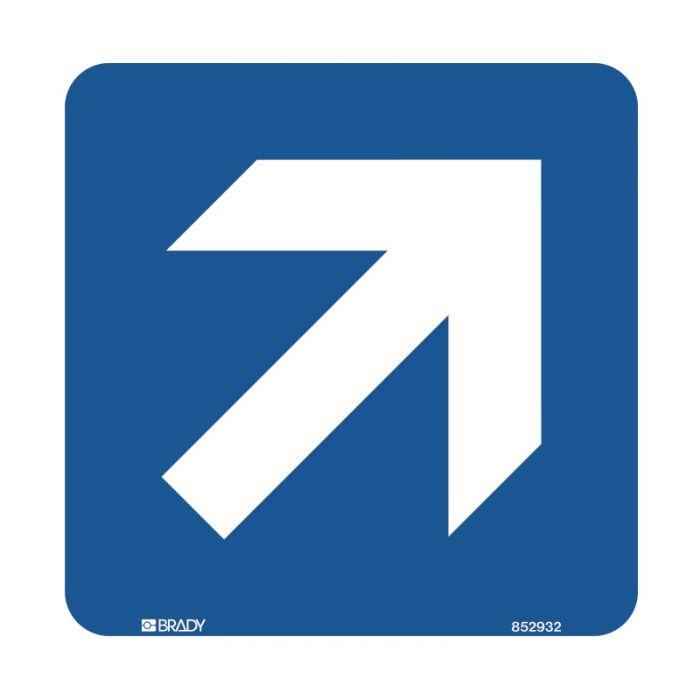 855914 Hospital-Nursing Home Sign - Diagonal Arrow Symbol