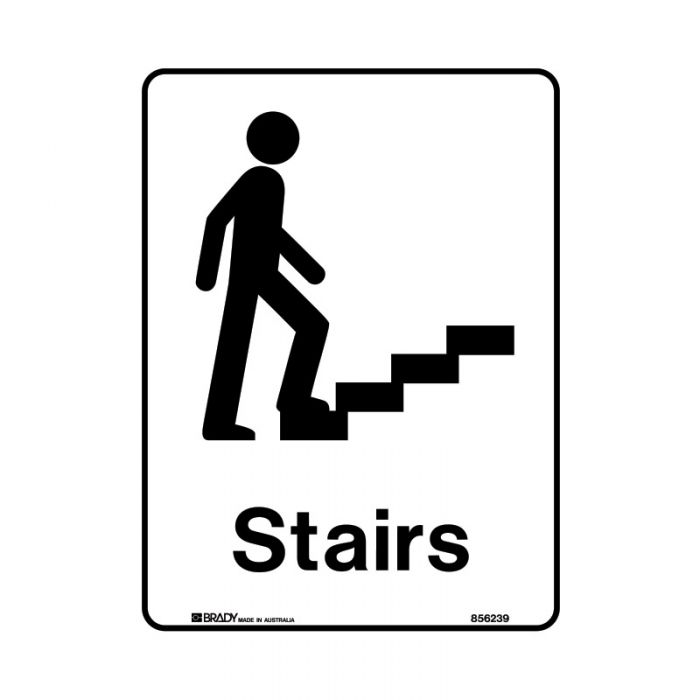 856240 Public Area Sign - Stairs