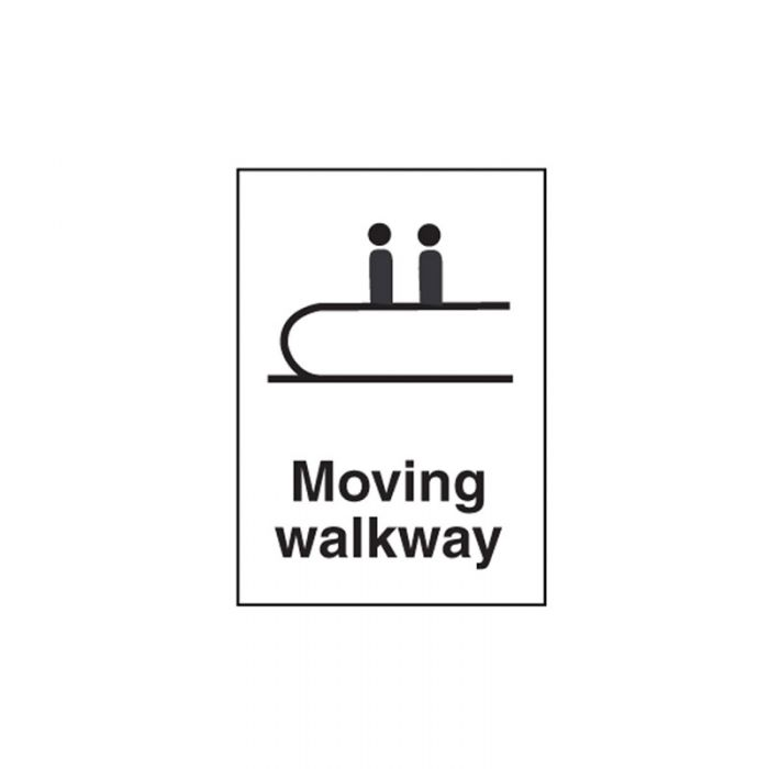 856305 Public Area Sign - Moving Walkway