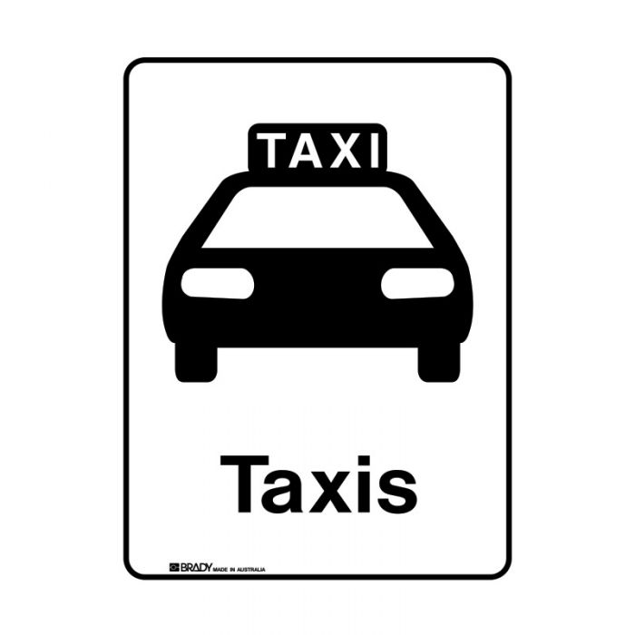 856328 Public Area Sign - Taxis