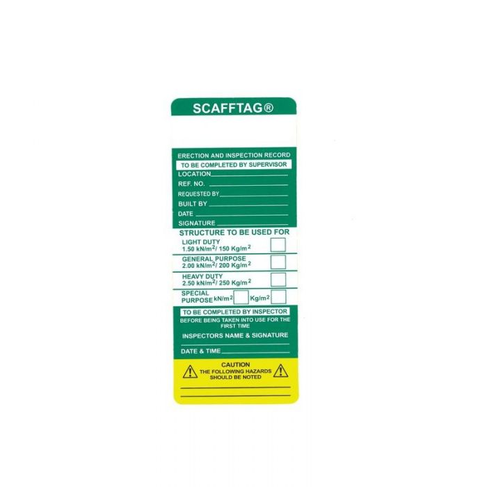 857190 Scafftag Mk I Loading Insert - Heavy Weight