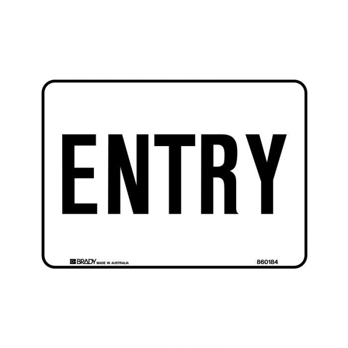 860184 Hospital-Nursing Home Sign - Entry