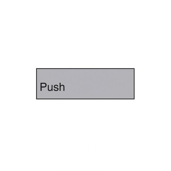 863064 Engraved Office Sign - Push
