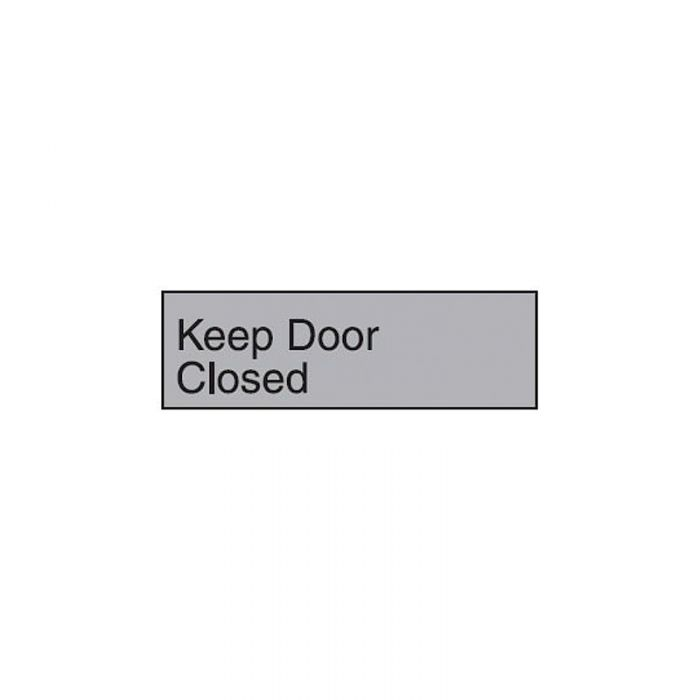 863073 Engraved Office Sign - Keep Door Closed