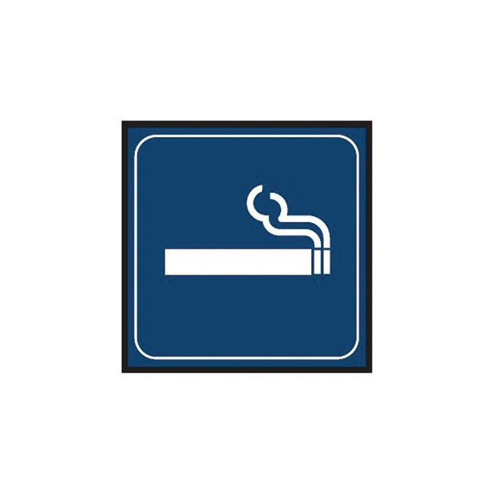 863097 Engraved Office Sign - Smoking Graphic
