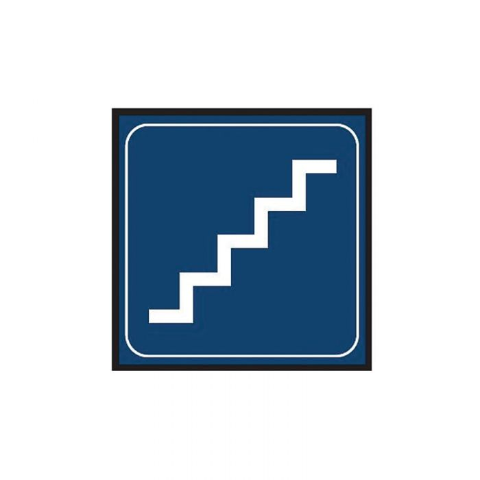 863102 Engraved Office Sign - Stairs Graphic