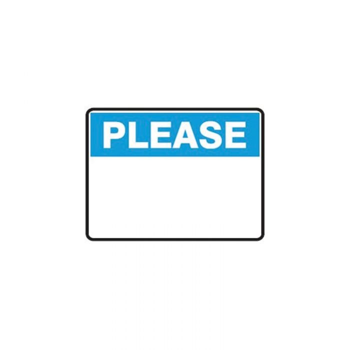 863529-Blank-Safety-Sign---Please